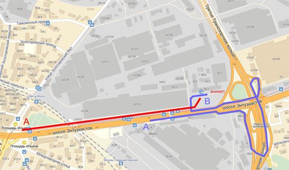 Схема проезда общественным и автомобильным транспортом.